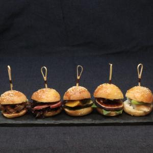 L'Enfariné mini hamburger aperitif